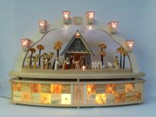 Lichtbogen Christi Geburt elektr. beleuchtet