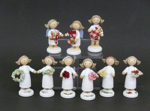 Mädchen mit Blütenkranz