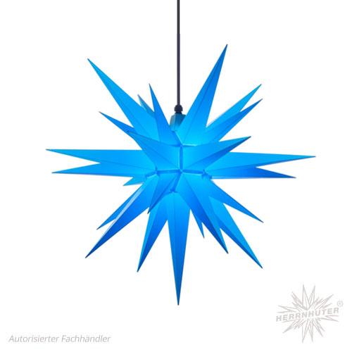 herrnhuter stern kunststoff 68cm blau erzgebirgskunst shop. Black Bedroom Furniture Sets. Home Design Ideas