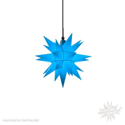 Herrnhuter Stern, Kunststoff 40cm, blau