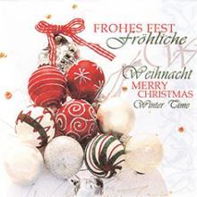 "Servietten, Motiv ""Frohes Fest"""