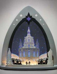 LED Lichterspitze, Dresdner Frauenkirche
