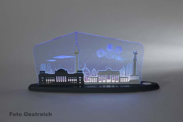 """LED Motivleuchte """"Berlin bei Nacht"""""""