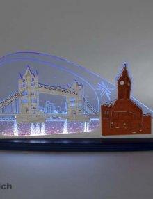 "LED Motivleuchte ""London"""