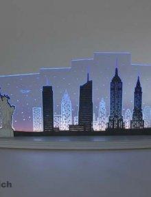 """LED Motivleuchte """"New York, New York"""""""