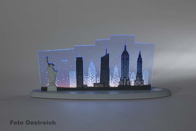 "LED Motivleuchte ""New York, New York"""