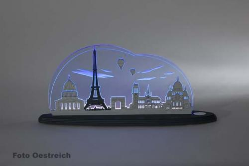 """LED Motivleuchte """"Ich liebe Paris"""""""