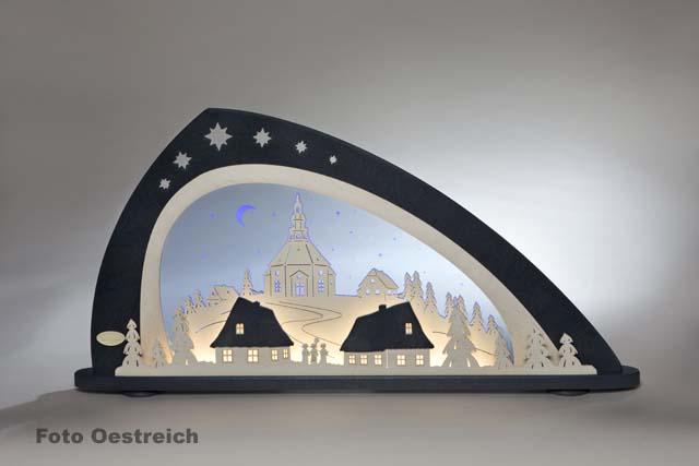 LED Schwibbogen, Seiffen