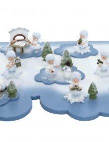 Große Wolke für Schneeflöckchen **Neu 2015**