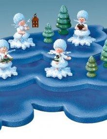 Schneeflöckchen, Konzert Wolke mit 3 Etagen