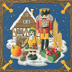 """Servietten, Motiv """"Weihnachtsland"""""""