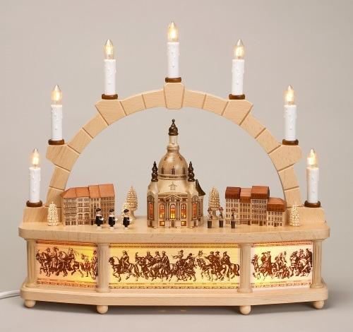 Schwibbogen Dresdner Frauenkirche **NEU 2015**