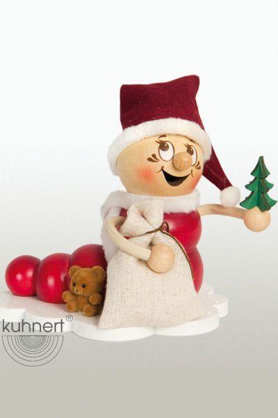Räuchermann Weihnachtsmann Rudi