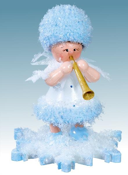 Schneeflöckchen mit Instrument