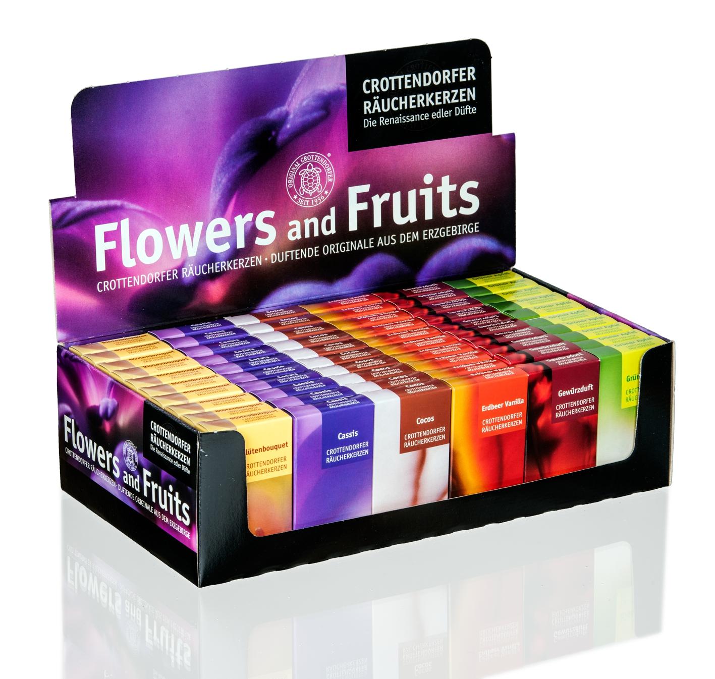 Räucherkerzen, Crottendorfer, Flowers & Fruits **Neu 2016**