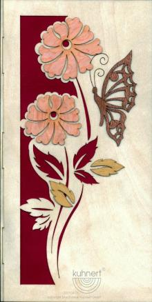 "Glückwunschkarte ""Blumen"" **Neu 2015**"