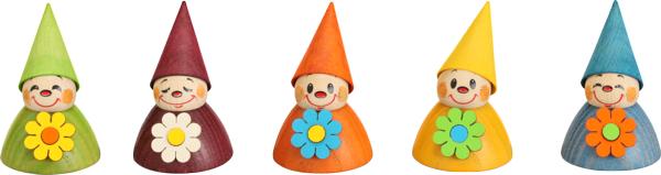 Wippelfiguren, Blumen 5er **Neu 2015**