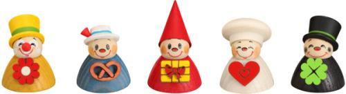 Wippelfiguren, Mix 5er **Neu 2015**