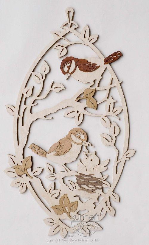 Fensterbild Vögel ** Neu 2016 **