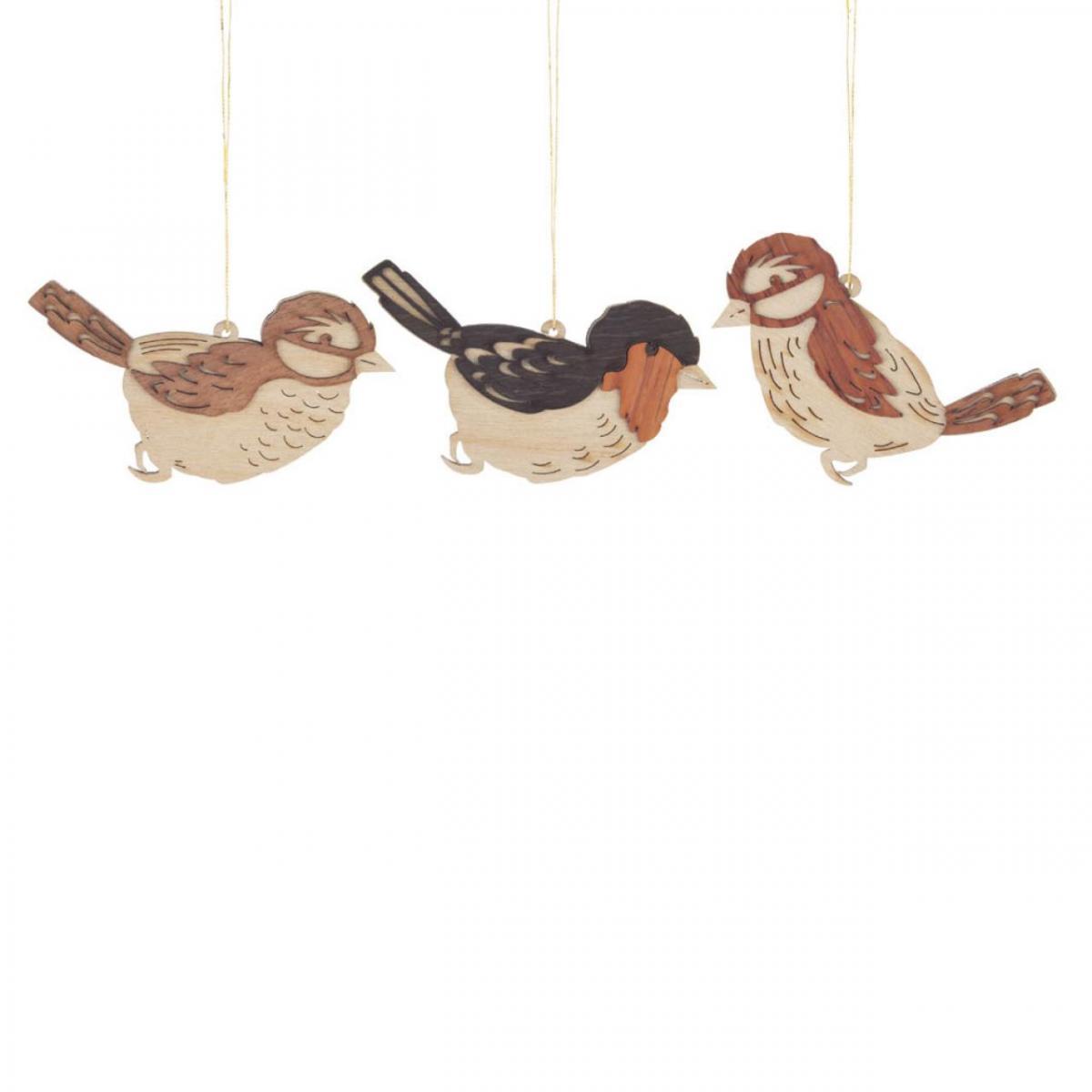 Osterschmuck, Behang 6 Vögel ** Neu 2016 **