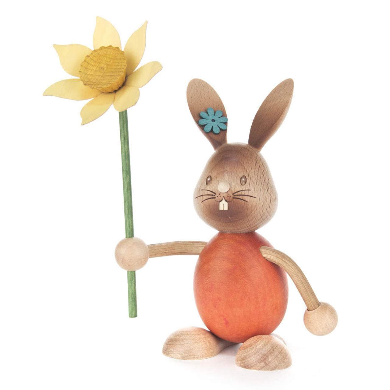 Osterhase Stupsi mit Blume **Neu 2015**