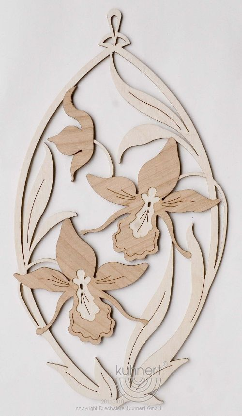 Fensterbild Orchideen ** Neu 2016 **