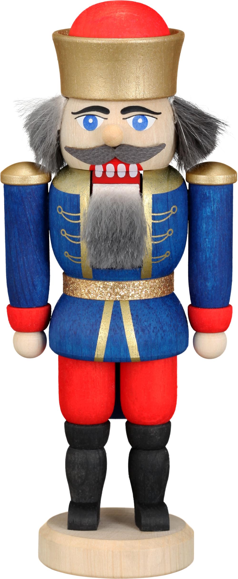 Nußknacker König blau **Neu 2016**