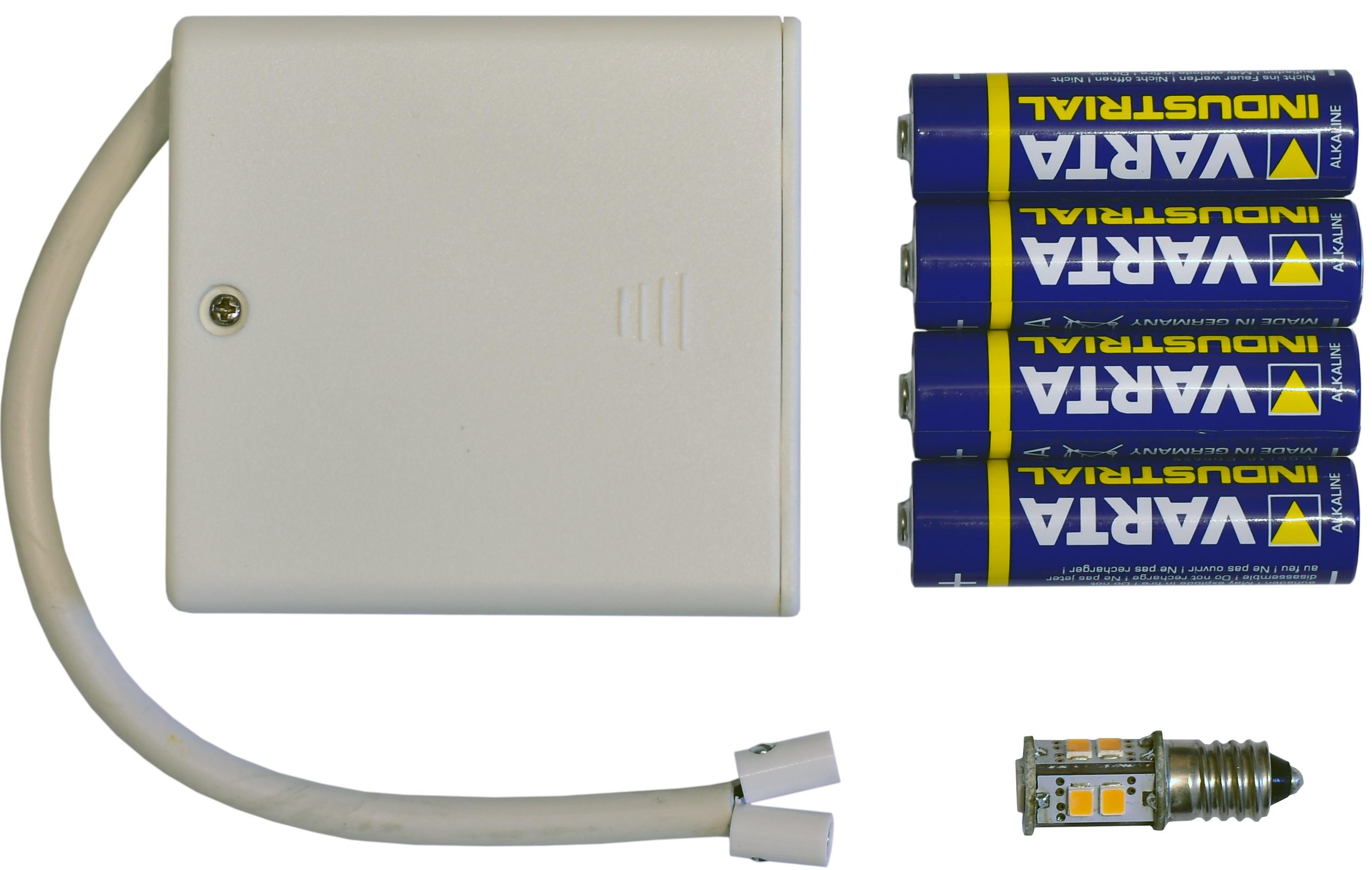 Herrnhuter Batteriehalter Zur Beleuchtung von 1 Stern (A1e,A1b,I1)
