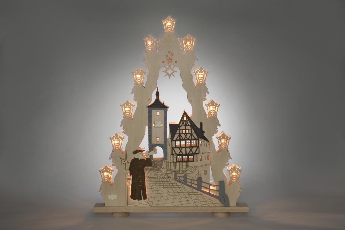 """Lichterspitze """"Rothenburg ob der Tauber"""" **Neu 2016**"""