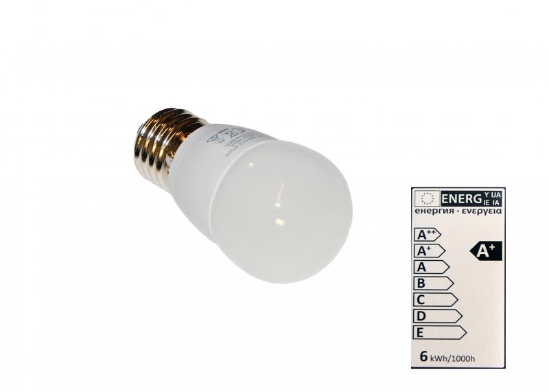 LED Lampe, Leuchtmittel, E27, 6W
