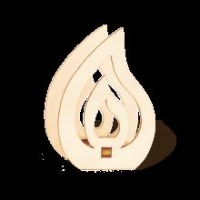 16 Aufsteckflammen