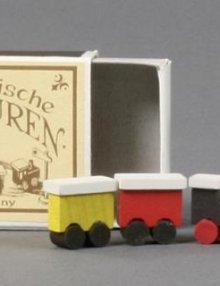 Zündholzschachtel - Eisenbahn