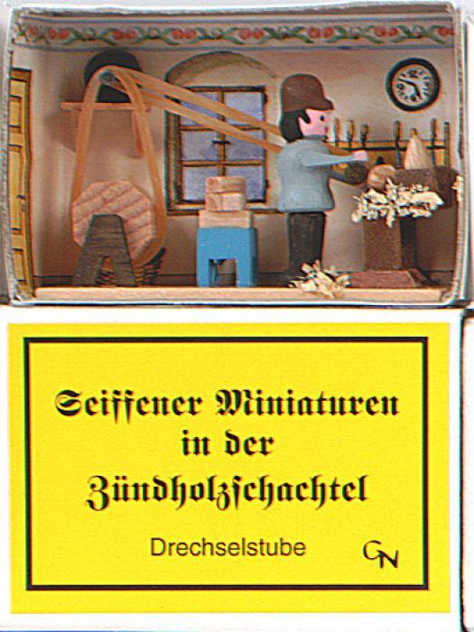 Zündholzschachtel - Drechselstube