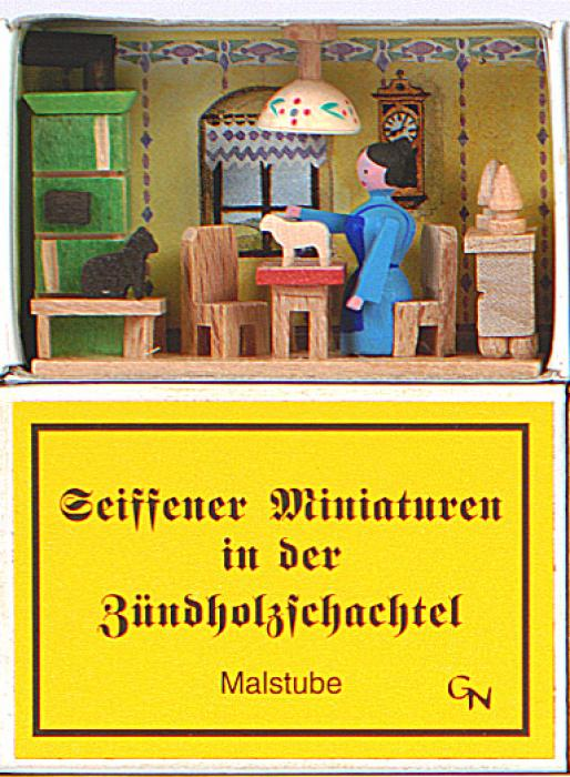 Zündholzschachtel - Malstube