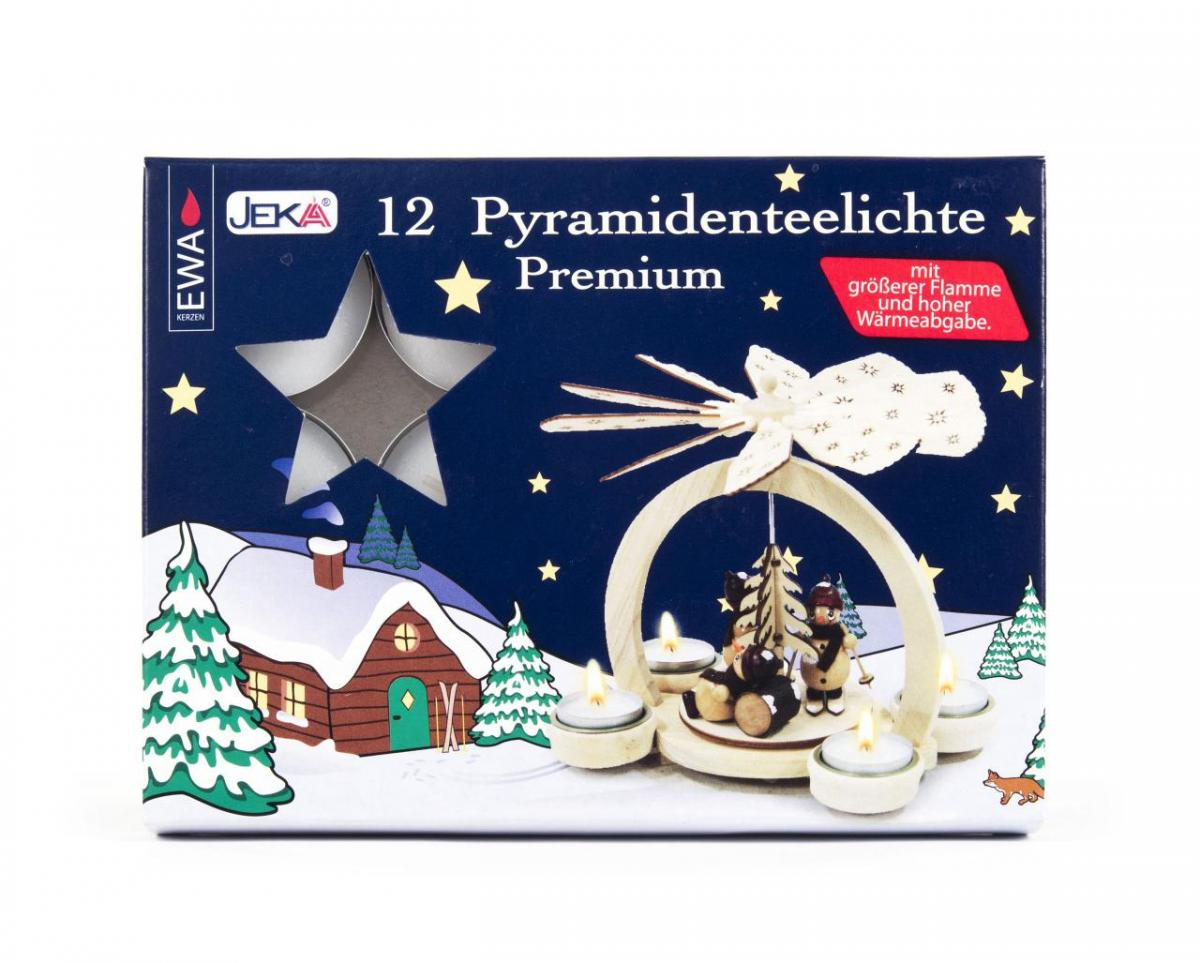 Pyramidenteelichter, Premium