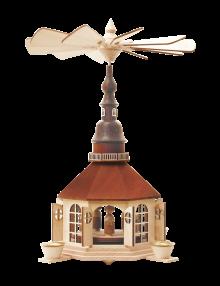 Pyramide Seiffener Kirche