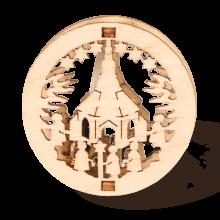 Mini-Fensterbild Kirche