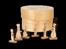 Miniatur Figuren Weihnachtsmarkt in Spandose **Neu 2015**