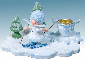 Schneeflöckchen Kerzenhalter