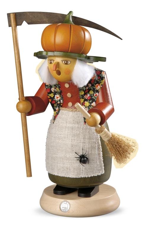 Räucherfrau, Halloween-Hexe