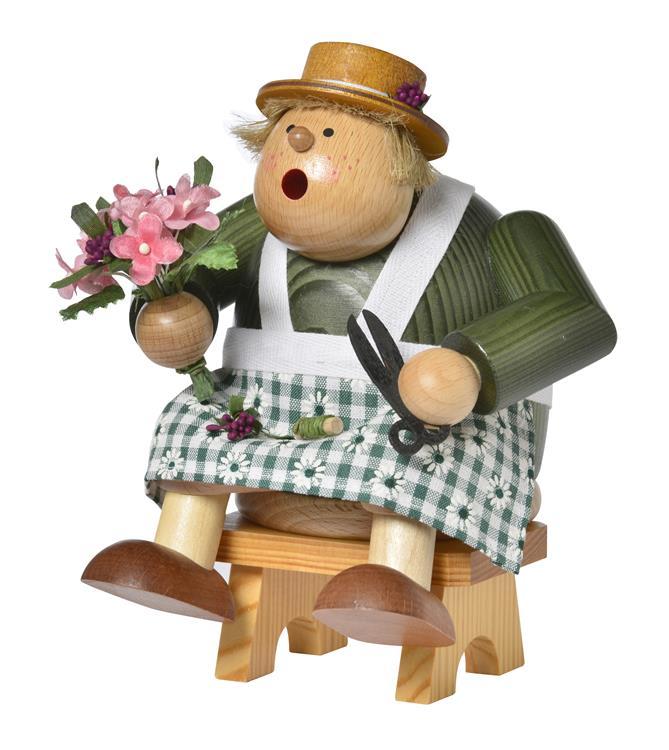 Räucherfrau, Kantenhocker Floristin **Neu 2016**