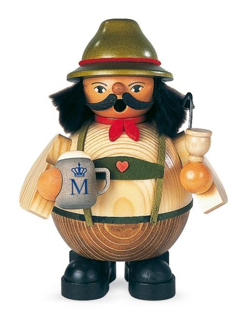 Räuchermann Bayer auf Oktoberfest