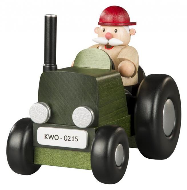 Räuchermann Traktorfahrer mini **Neu 2016**