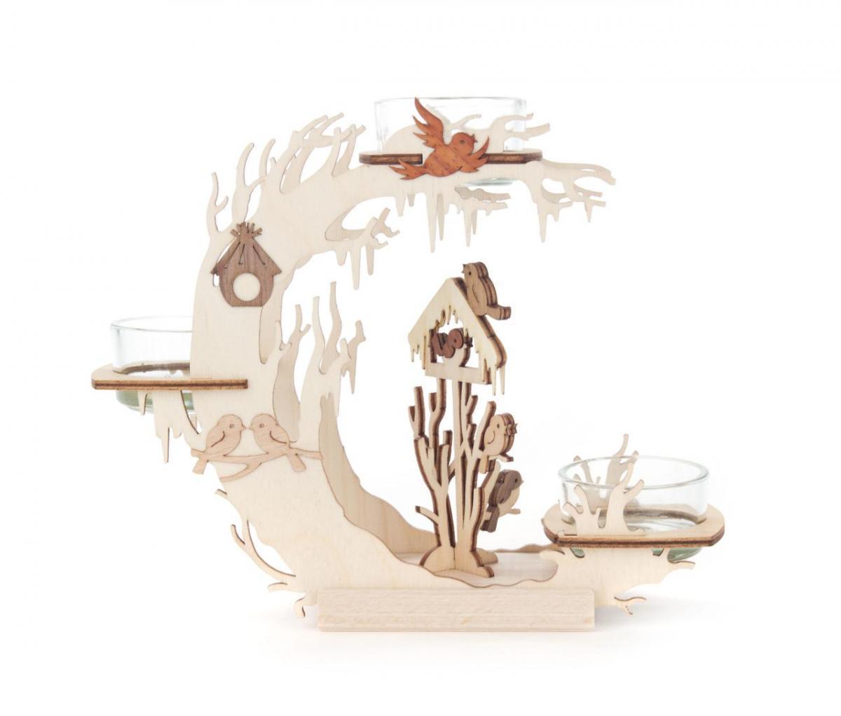 Teelichtkranz Vogelhaus **Neu 2016**