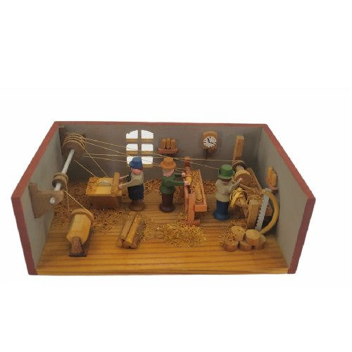 Miniaturstube Drehwerk