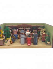 Miniaturstube Spielzeugladen