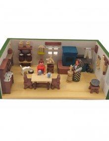 Miniaturstube Bauernstube