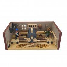 Miniaturstube Sägewerk