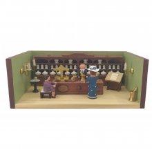 Miniaturstube Apotheke