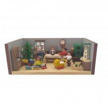 Miniaturstube Weihnachtsstube